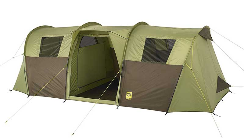 OVerland 10 person cmaping tent great for dog families 2