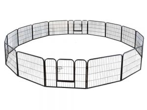 barrier fence outdoor dog play pen