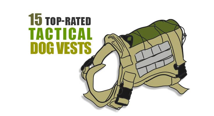 15 best tactical dog vest harness 2