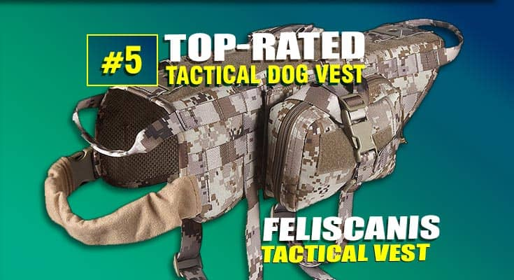 Feliscanis best tactical dog vest #5