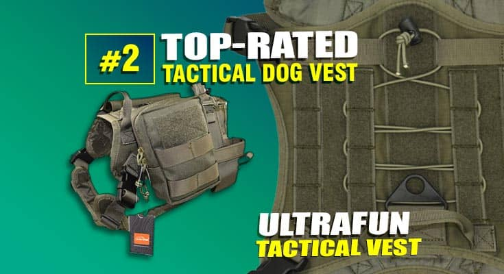 best tactical dog vest #2 ultrafun brand