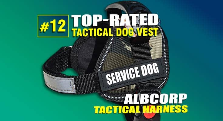 best tactical service vest dog harness #12