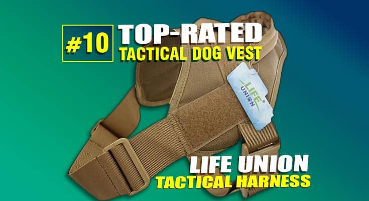 life union tactical dog vest best #10