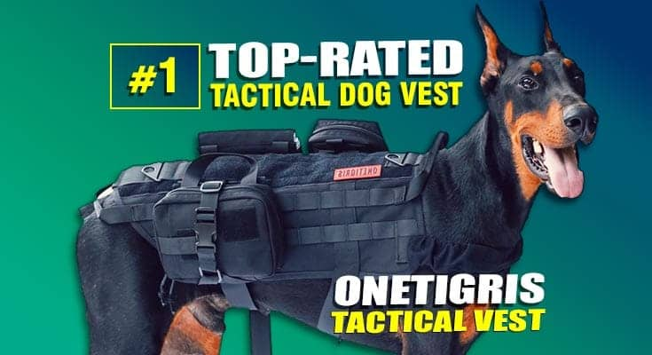 onetigris tactical dog vest Best tactical dog vest