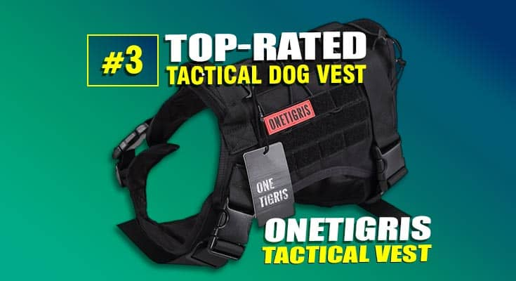 onetigris tactical dog vest best #3