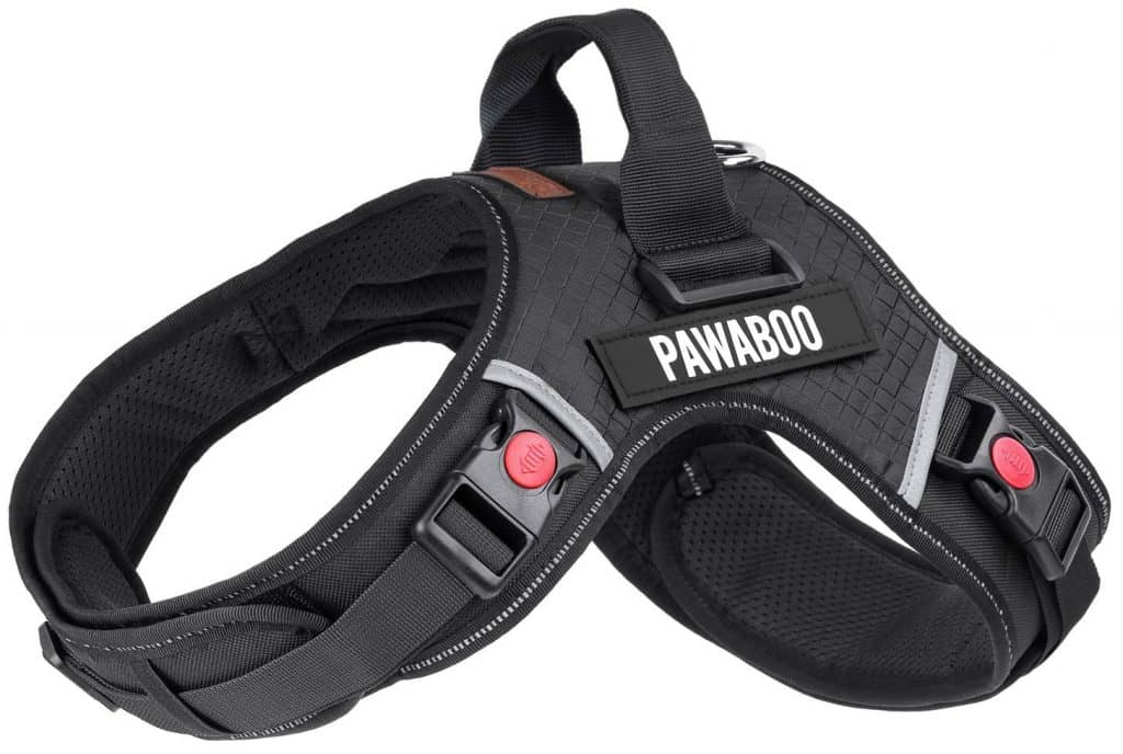 pawaboo tactical dog harness best