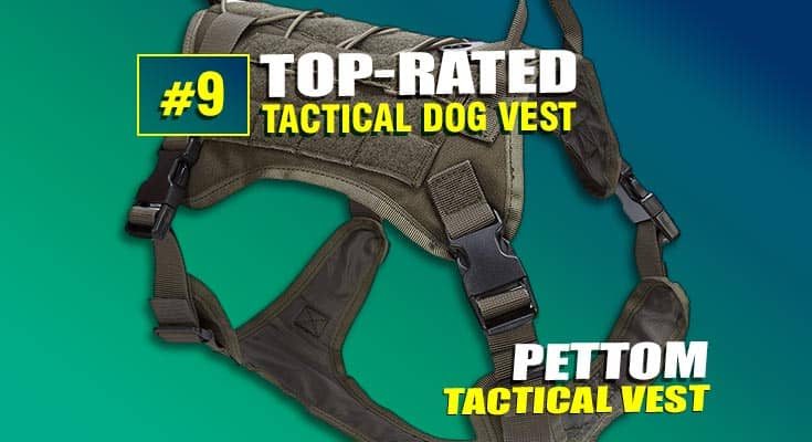 pettom tactical dog vest best #9