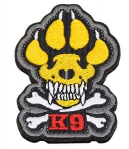 tactical dog vest patch k9