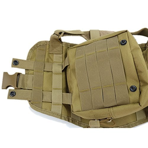 ultrafun tactical dog vest durability buttons