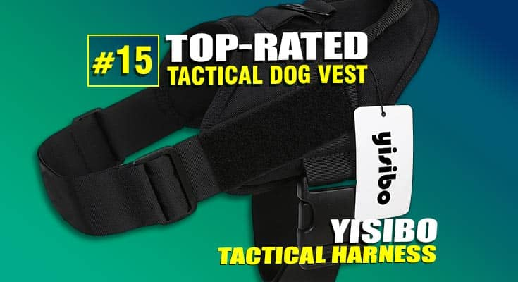 yisibo tactical dog vest harnes best #15