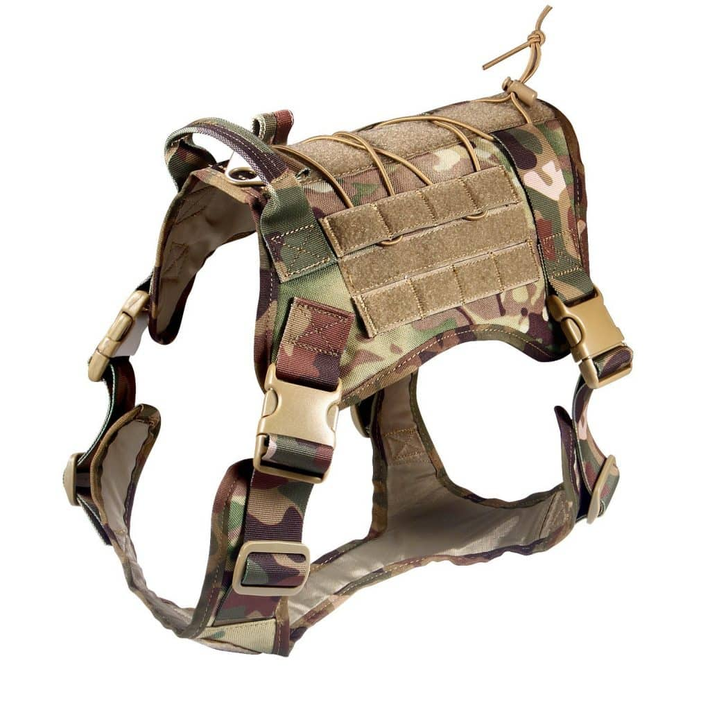 feliscanis camo #8 BEST tactical dog vest