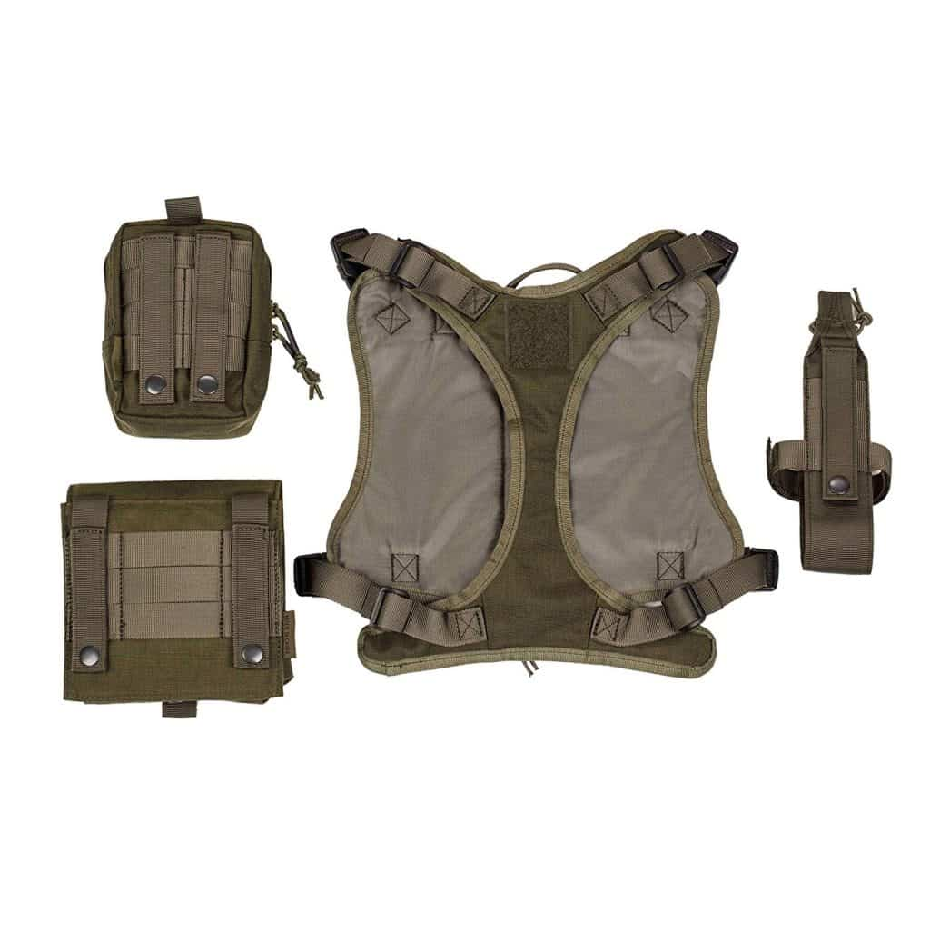 Service Tactical Dog Harness