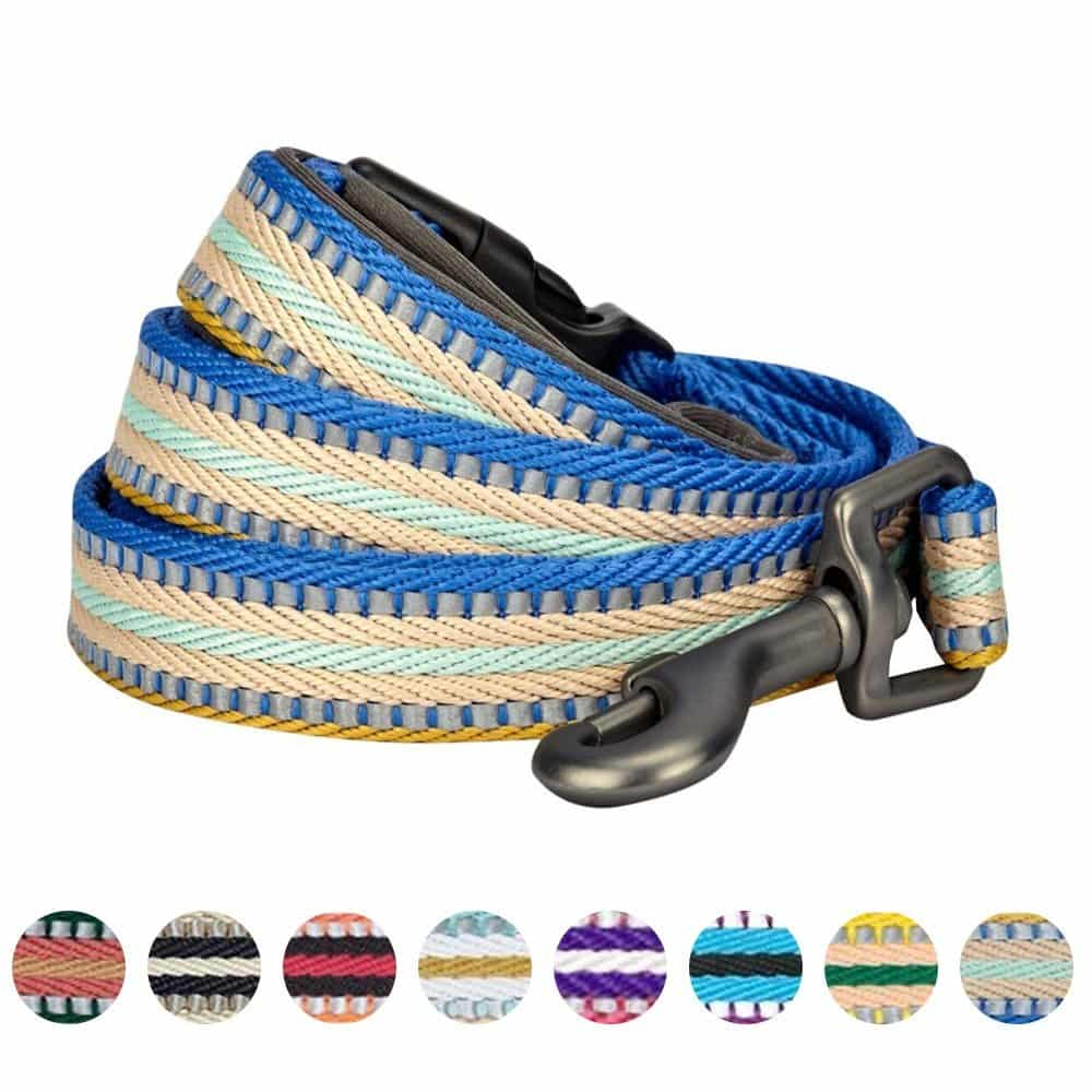 nighttime safety gear for dogs reflective dog leashes