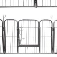 oxford heavy dutal 8 panel dog play pen for outdoor